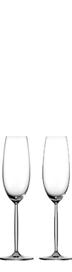 2x Schott Zwiesel Champagne Flutes