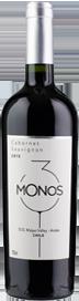 3 Monos Cabernet Sauvignon 2015