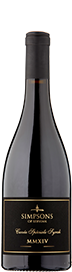 Simpsons of Servian Cuvee MMXIV Speciale Syrah 2014