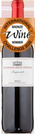 Hacienda Don Hernan Rioja Tempranillo 2018