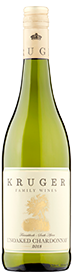 Kruger Family Unoaked Chardonnay 2019