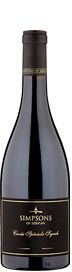 Simpsons of Servian Cuvee MMXVIII Speciale Syrah 2018