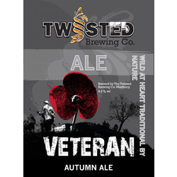 Image result for Twisted Brewery Veteran